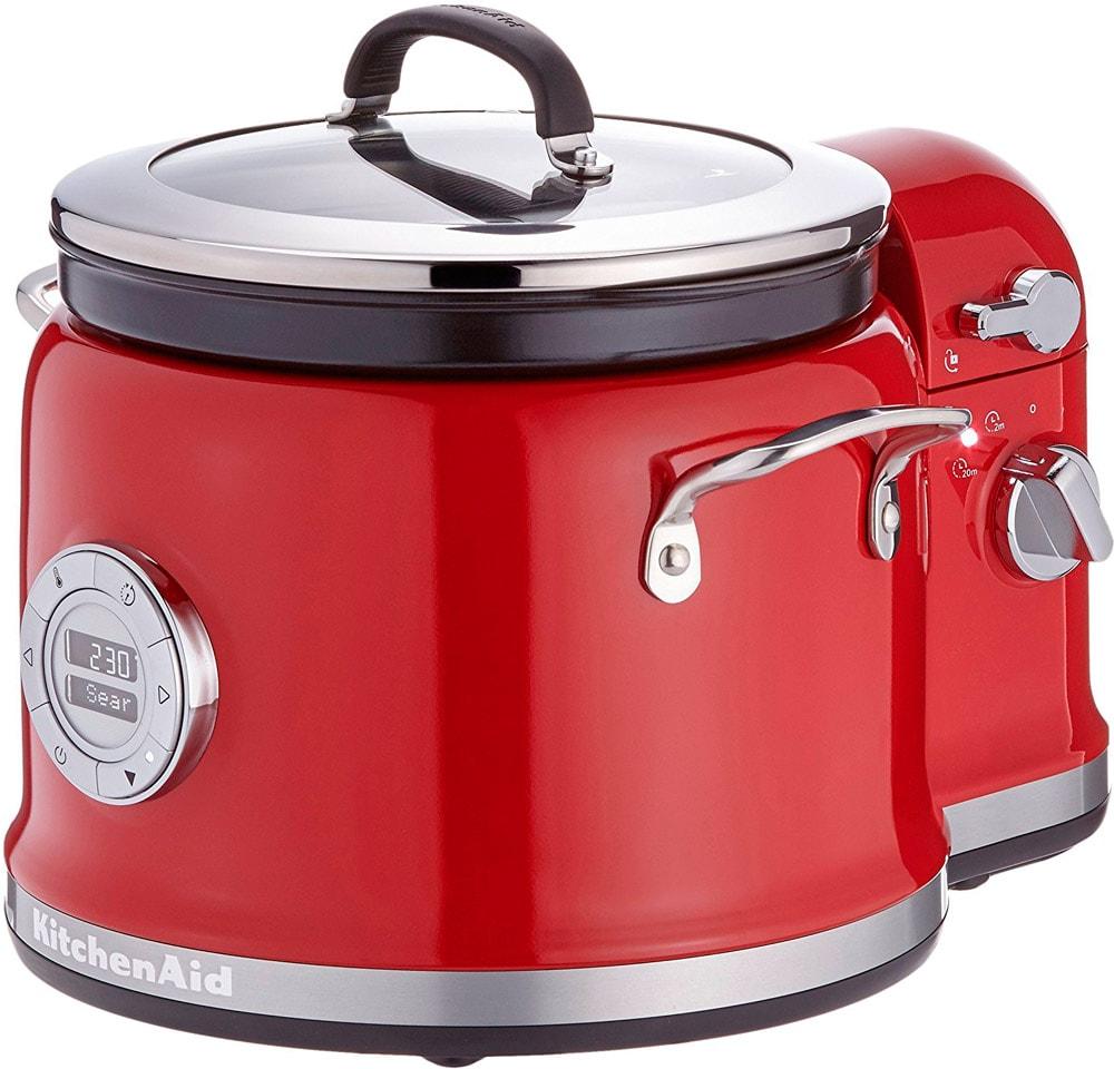 Онлайн каталог PROMENU: Мультиварка с устройством для перемешивания KitchenAid, красный KitchenAid 5KMC4244EER