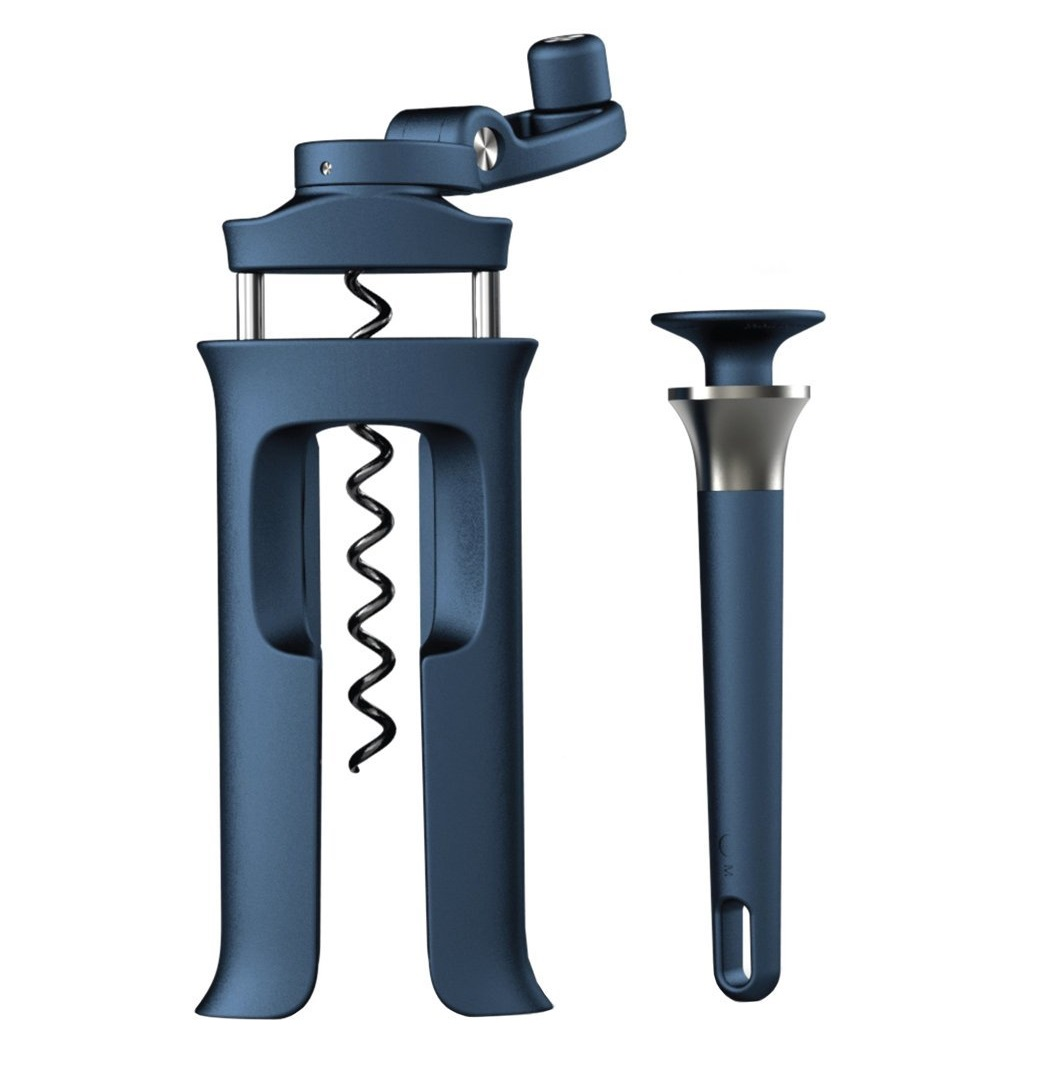 Онлайн каталог PROMENU: Набор: винтовой штопор и открывалка с магнитом Joseph Joseph BARWARE, синий, 2 предмета Joseph Joseph 20091