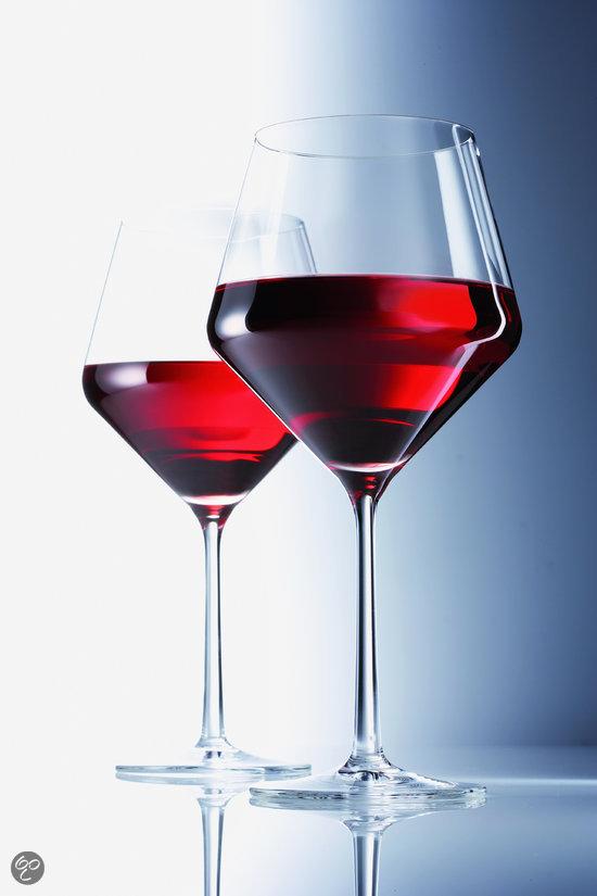 Набор бокал для красного вина Schott Zwiesel PURE, объем 0,692 л, прозрачный, 6 штук Schott Zwiesel 112421_6шт фото 3