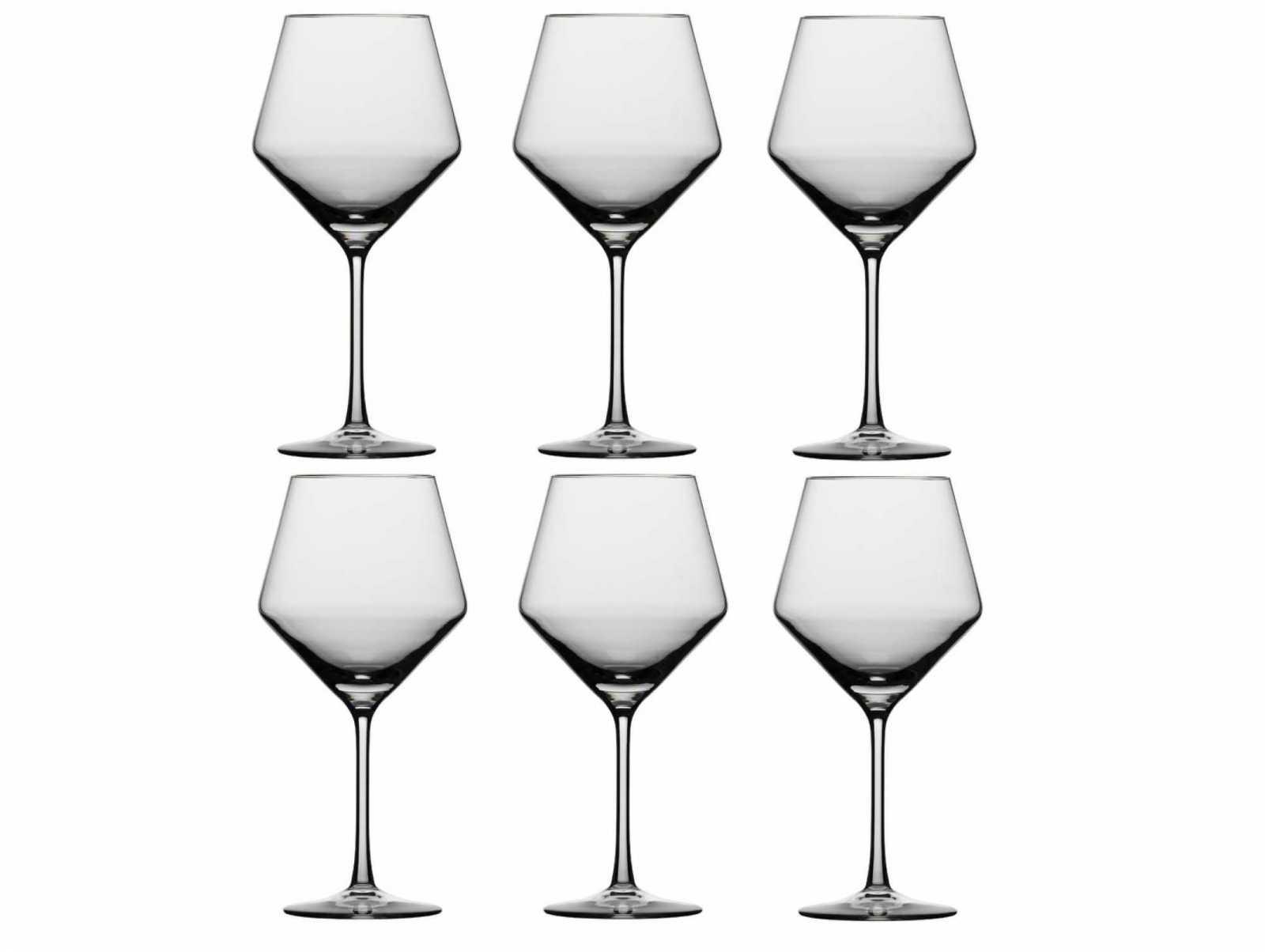 Онлайн каталог PROMENU: Набор бокал для красного вина Schott Zwiesel PURE, объем 0,692 л, прозрачный, 6 штук Schott Zwiesel 112421_6шт