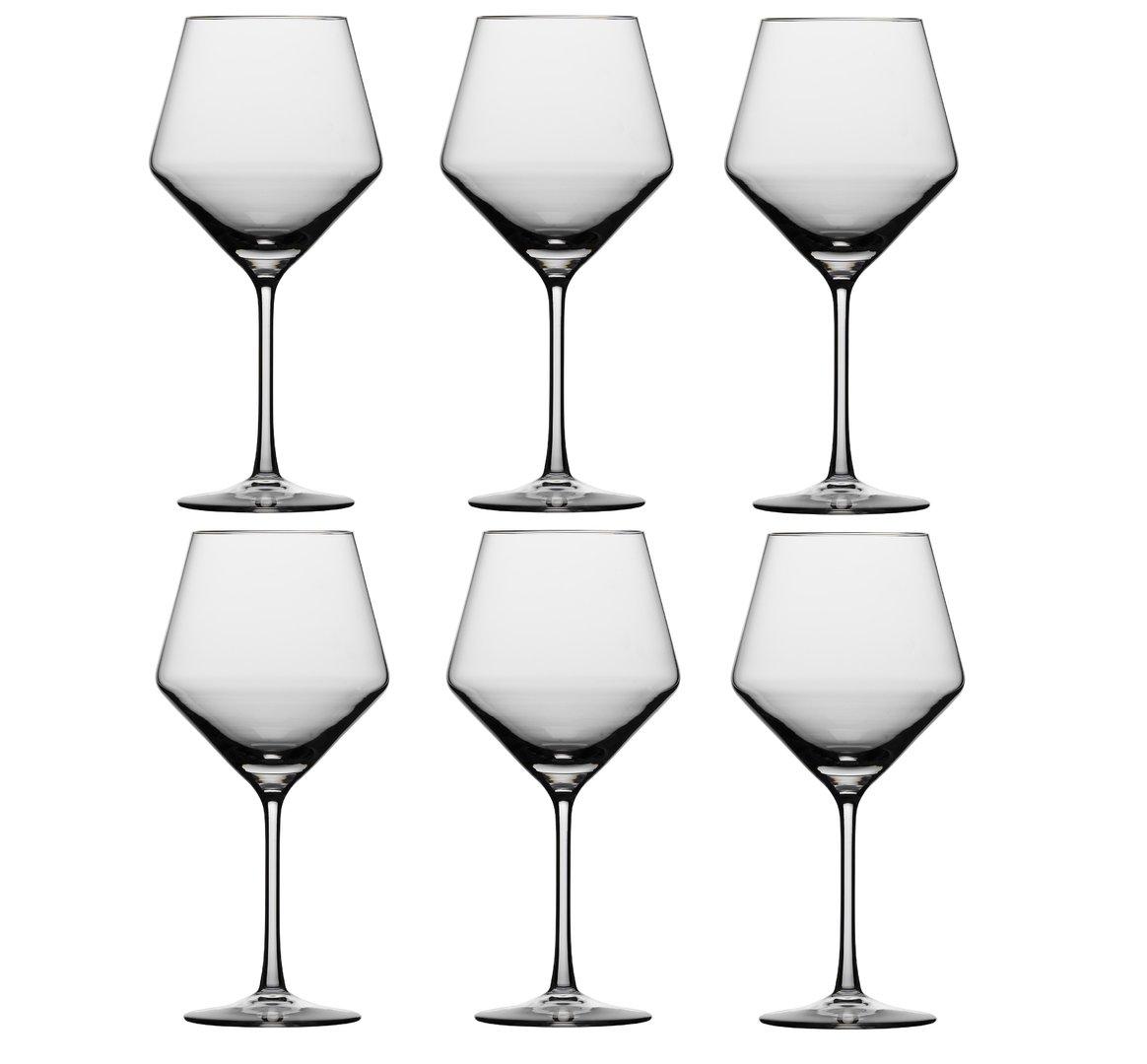 Набор бокал для красного вина Schott Zwiesel PURE, объем 0,692 л, прозрачный, 6 штук Schott Zwiesel 112421_6шт фото 2