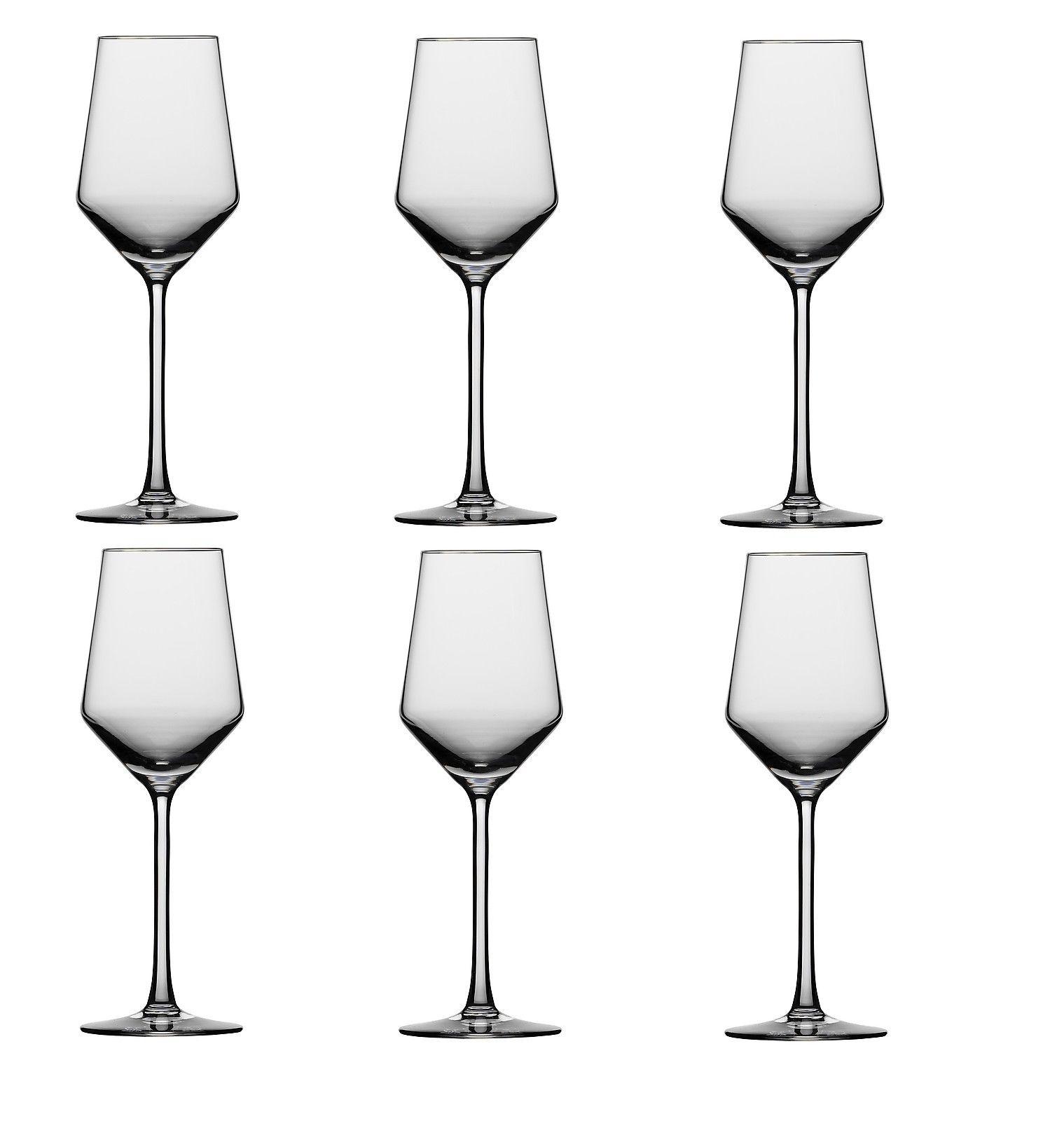 Набор бокалов для белого вина Schott Zwiesel PURE, объем 0,3 л, прозрачный, 6 штук Schott Zwiesel 112414_6шт фото 2