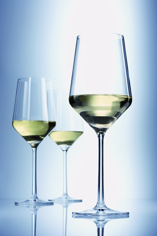 Набор бокалов для белого вина Schott Zwiesel PURE, объем 0,408 л, прозрачный, 6 штук Schott Zwiesel 112412_6шт фото 4