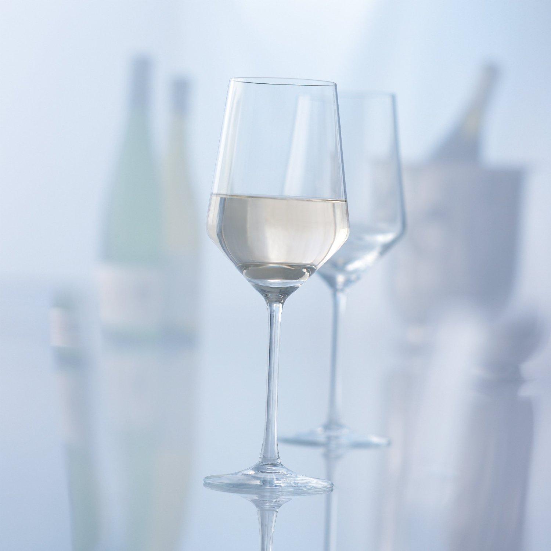 Набор бокалов для белого вина Schott Zwiesel PURE, объем 0,408 л, прозрачный, 6 штук Schott Zwiesel 112412_6шт фото 2