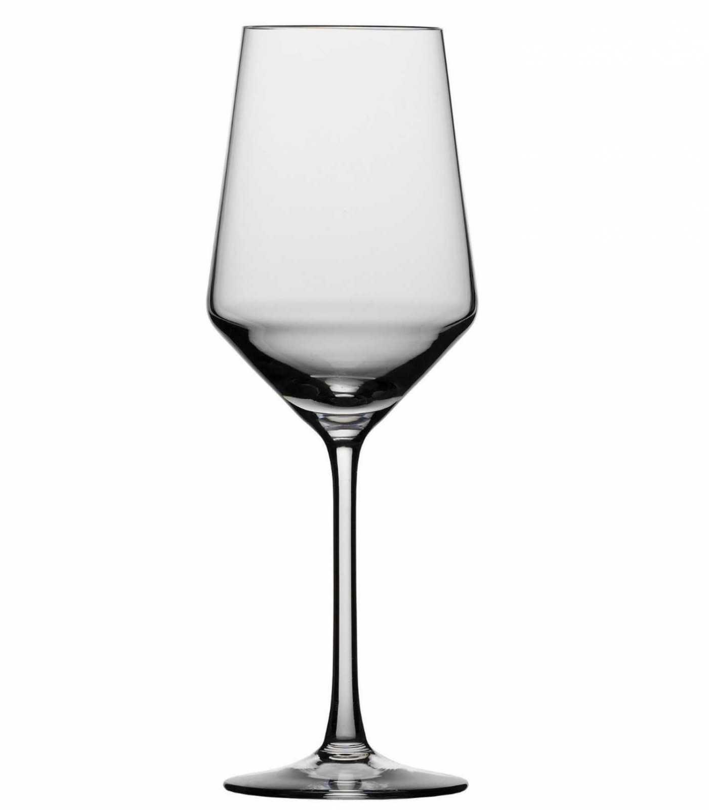 Набор бокалов для белого вина Schott Zwiesel PURE, объем 0,408 л, прозрачный, 6 штук Schott Zwiesel 112412_6шт фото 5