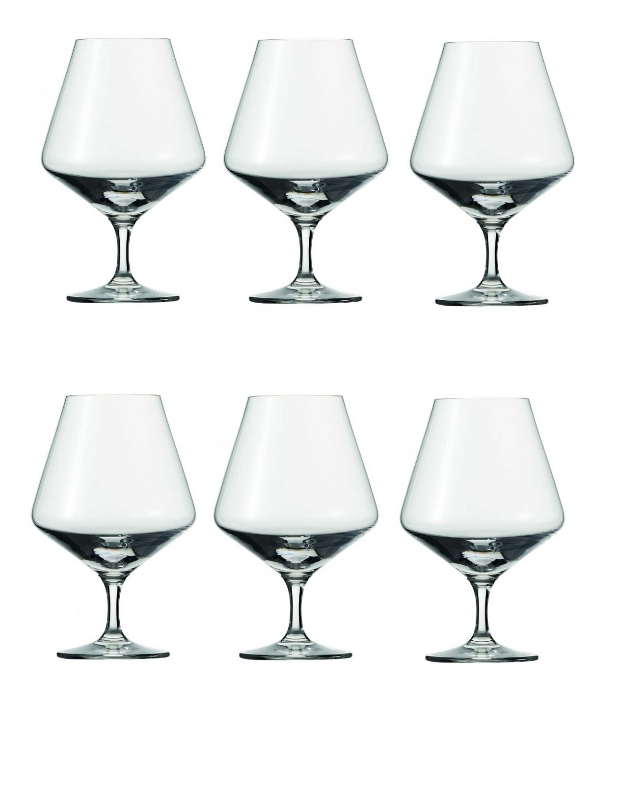 Онлайн каталог PROMENU: Набор бокалов для коньяка Schott Zwiesel PURE, объем 0,616 л, прозрачный, 6 штук Schott Zwiesel 113756_6шт