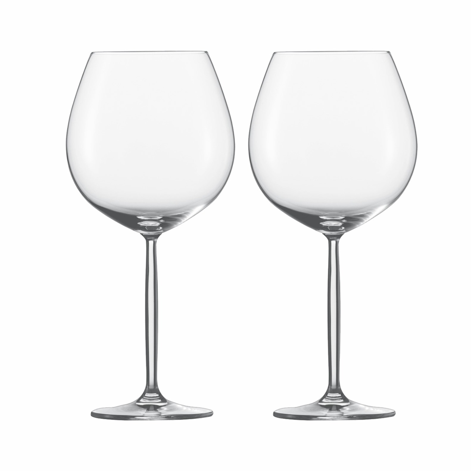 Онлайн каталог PROMENU: Набор бокалов для красного вина Burgundy Schott Zwiesel DIVA PROMO, объем 0,839 л, прозрачный, 2 штуки                               121207