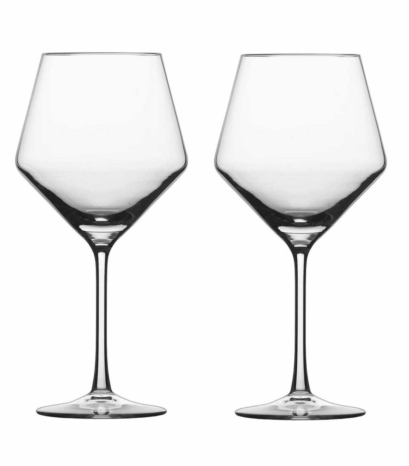 Набор бокалов для красного вина Schott Zwiesel PURE, прозрачный, 2 штуки Schott Zwiesel 112943_PROMO фото 0