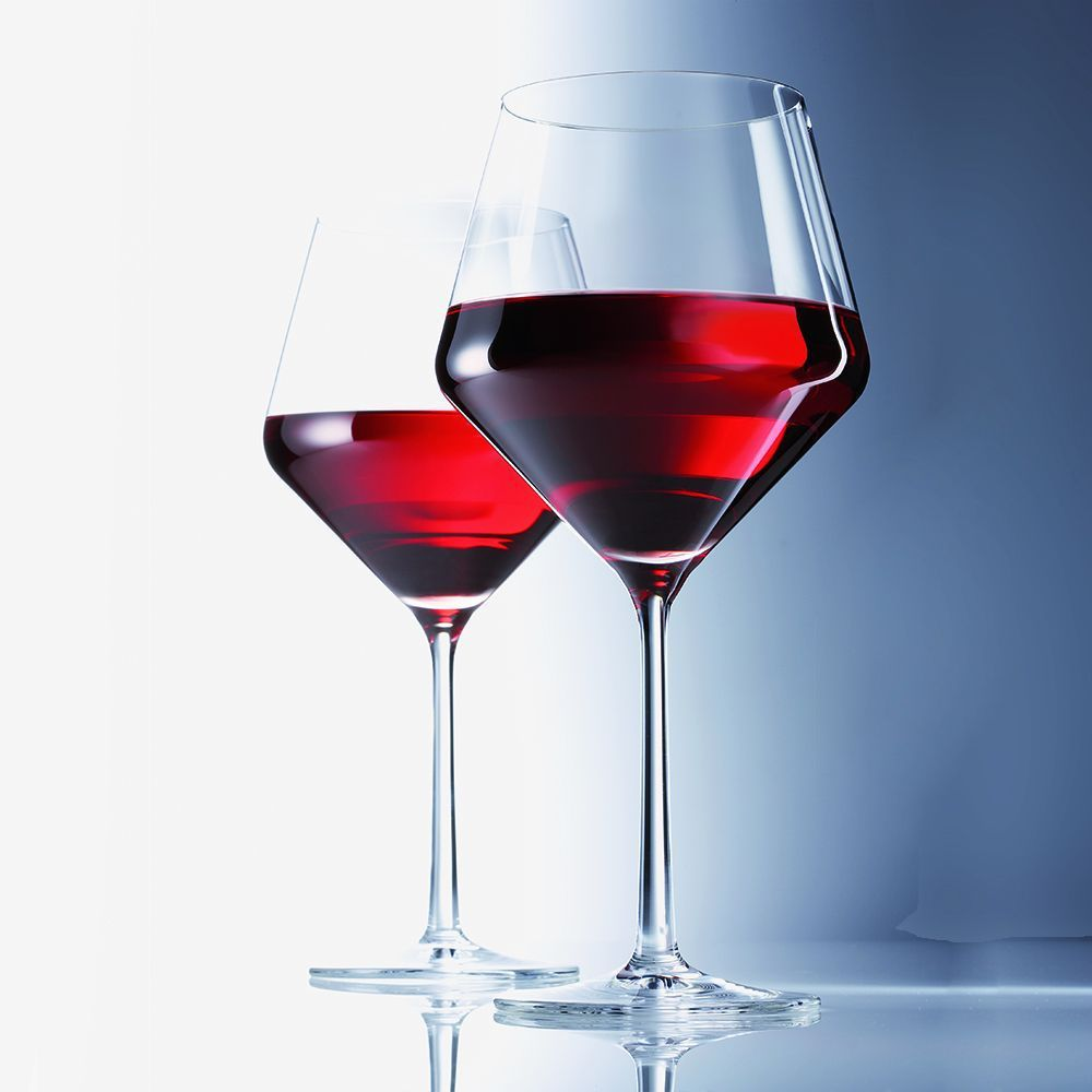 Набор бокалов для красного вина Schott Zwiesel PURE, прозрачный, 2 штуки Schott Zwiesel 112943_PROMO фото 2