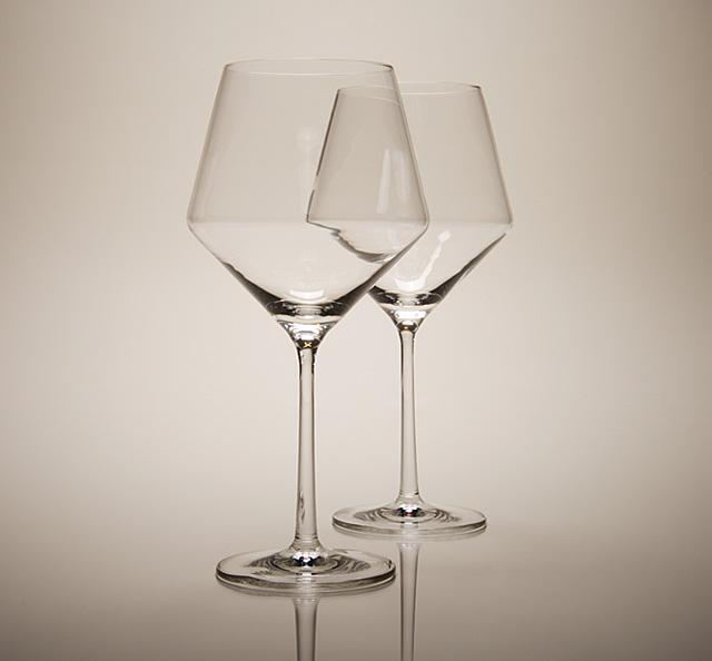 Набор бокалов для красного вина Schott Zwiesel PURE, прозрачный, 2 штуки Schott Zwiesel 112943_PROMO фото 3