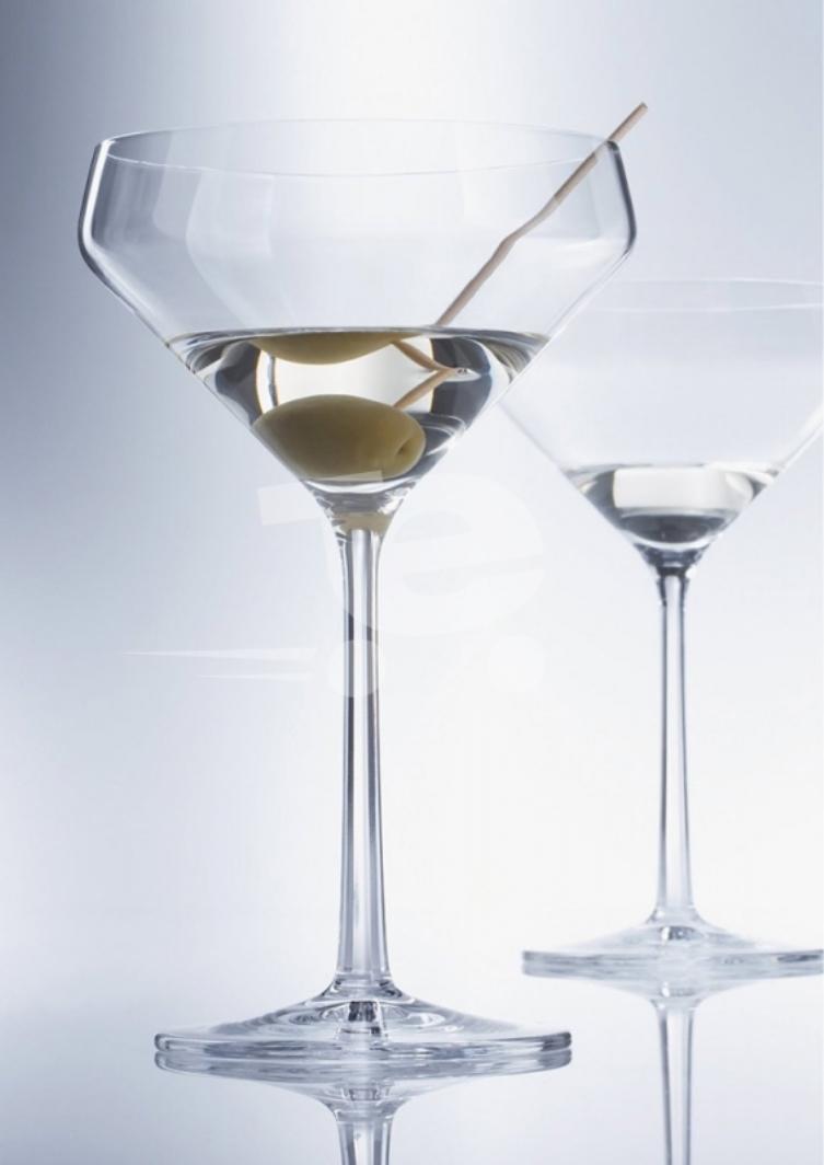 Набор бокалов для мартини Schott Zwiesel PURE, объем 0,343 л, прозрачный, 6 штук Schott Zwiesel 113755_6шт фото 4