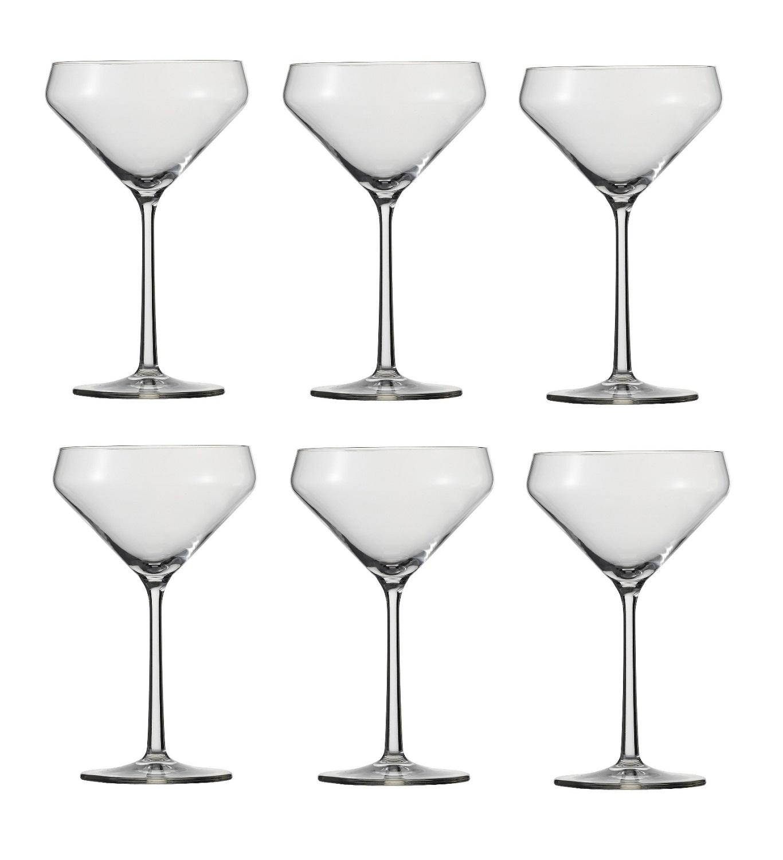 Онлайн каталог PROMENU: Набор бокалов для мартини Schott Zwiesel PURE, объем 0,343 л, прозрачный, 6 штук Schott Zwiesel 113755_6шт