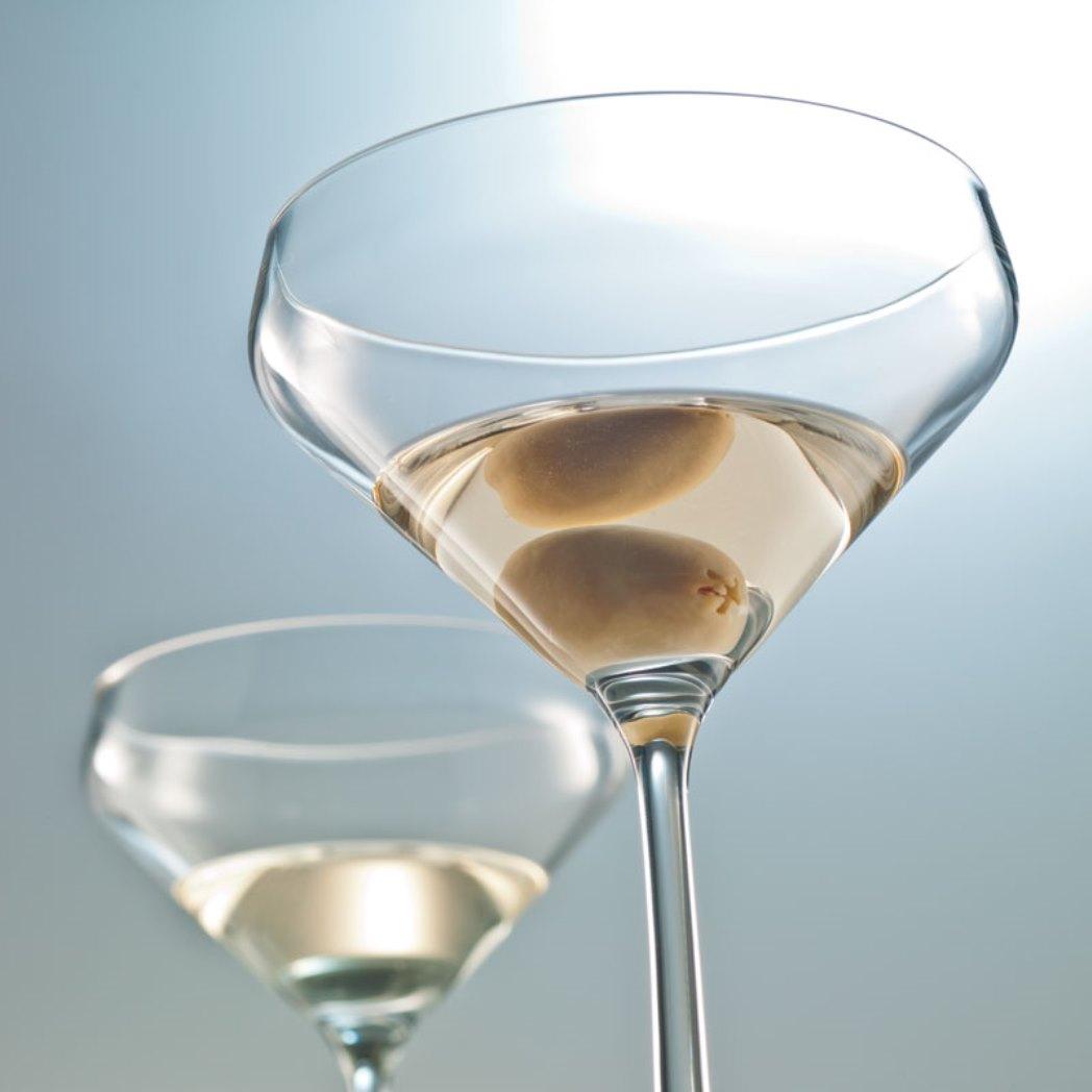 Набор бокалов для мартини Schott Zwiesel PURE, объем 0,343 л, прозрачный, 6 штук Schott Zwiesel 113755_6шт фото 2