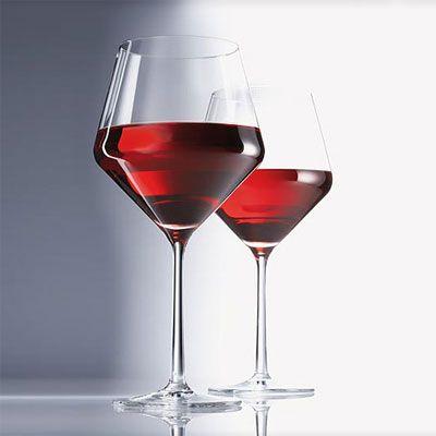 Набор бокалов для красного вина Schott Zwiesel PURE, объем 0,465 л, прозрачный, 6 штук Schott Zwiesel 112422_6шт фото 3