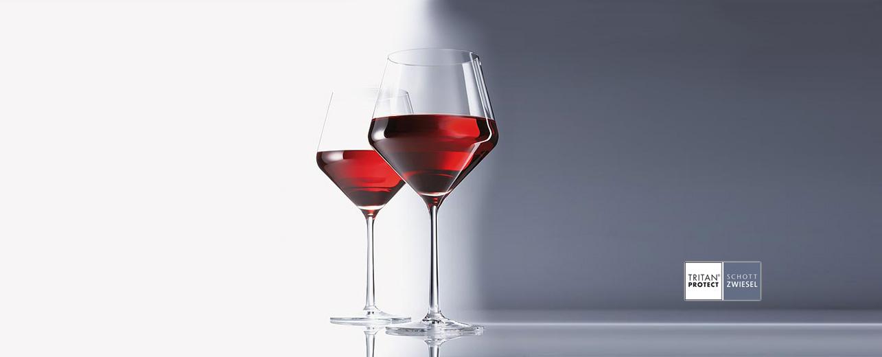Набор бокалов для красного вина Schott Zwiesel PURE, объем 0,465 л, прозрачный, 6 штук Schott Zwiesel 112422_6шт фото 2