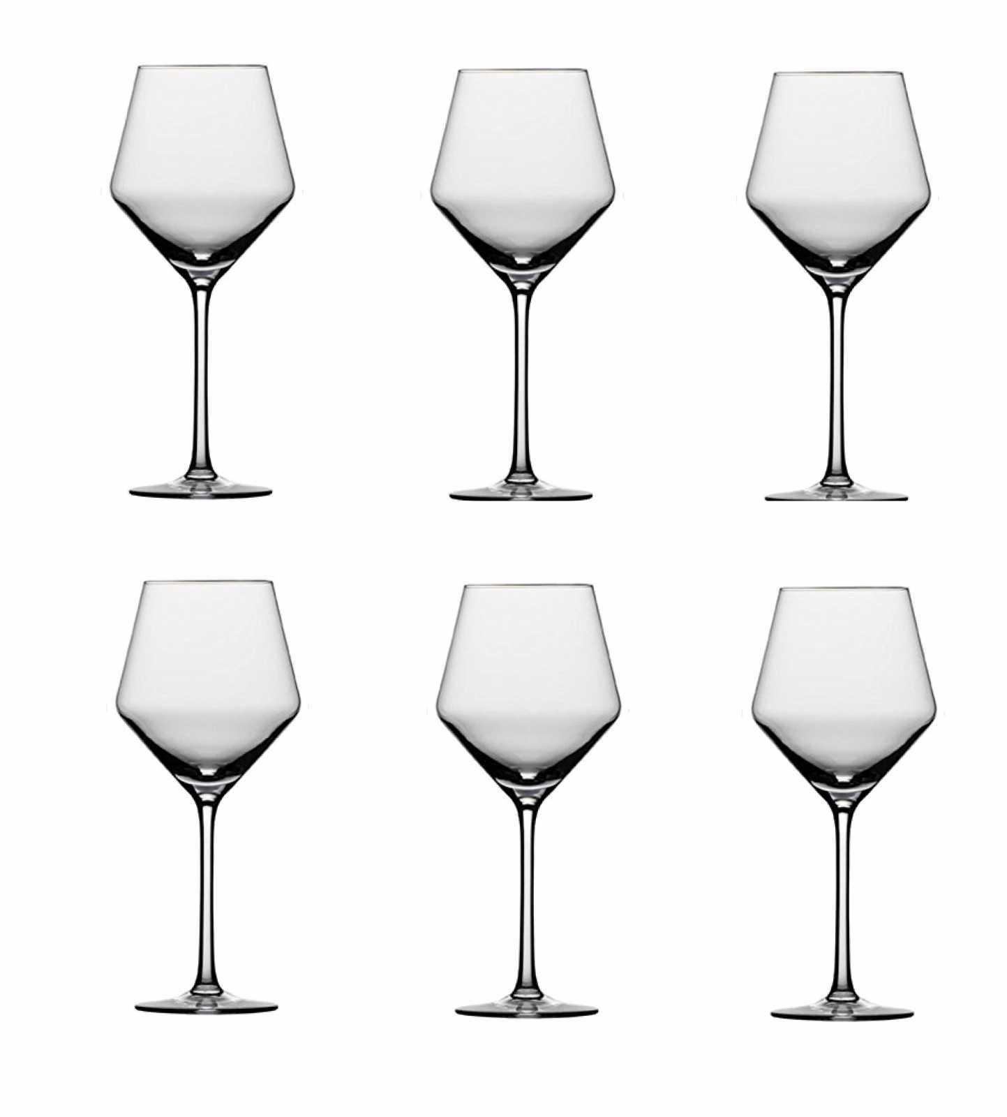 Онлайн каталог PROMENU: Набор бокалов для красного вина Schott Zwiesel PURE, объем 0,465 л, прозрачный, 6 штук Schott Zwiesel 112422_6шт