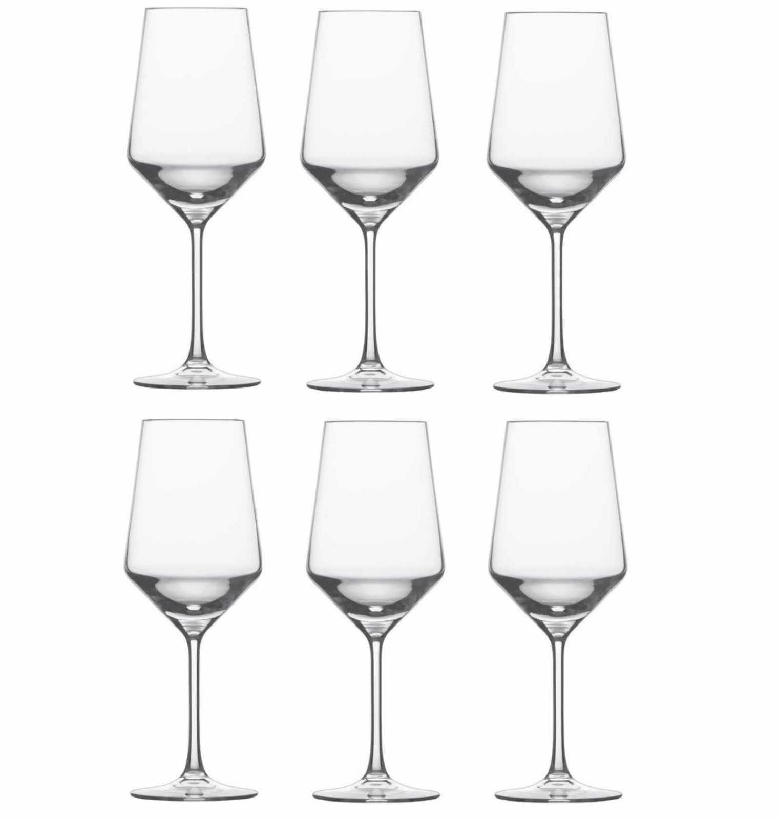 Онлайн каталог PROMENU: Набор бокалов для красного вина Schott Zwiesel PURE, объем 0,54 л, прозрачный, 6 штук Schott Zwiesel 112413_6шт