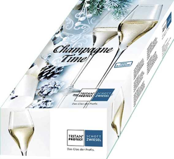 Набор бокалов для шампанского Schott Zwiesel Champagne Time, 0,298 л, прозрачный, 2 штуки Schott Zwiesel 119821 фото 2
