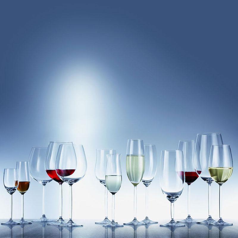 Набор бокалов для шампанского Schott Zwiesel DIVA, объем 0,293 л, прозрачный, 6 штук Schott Zwiesel 105702_6 фото 1