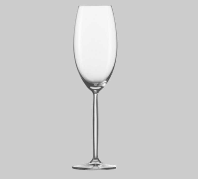 Набор бокалов для шампанского Schott Zwiesel DIVA, объем 0,293 л, прозрачный, 6 штук Schott Zwiesel 105702_6 фото 4