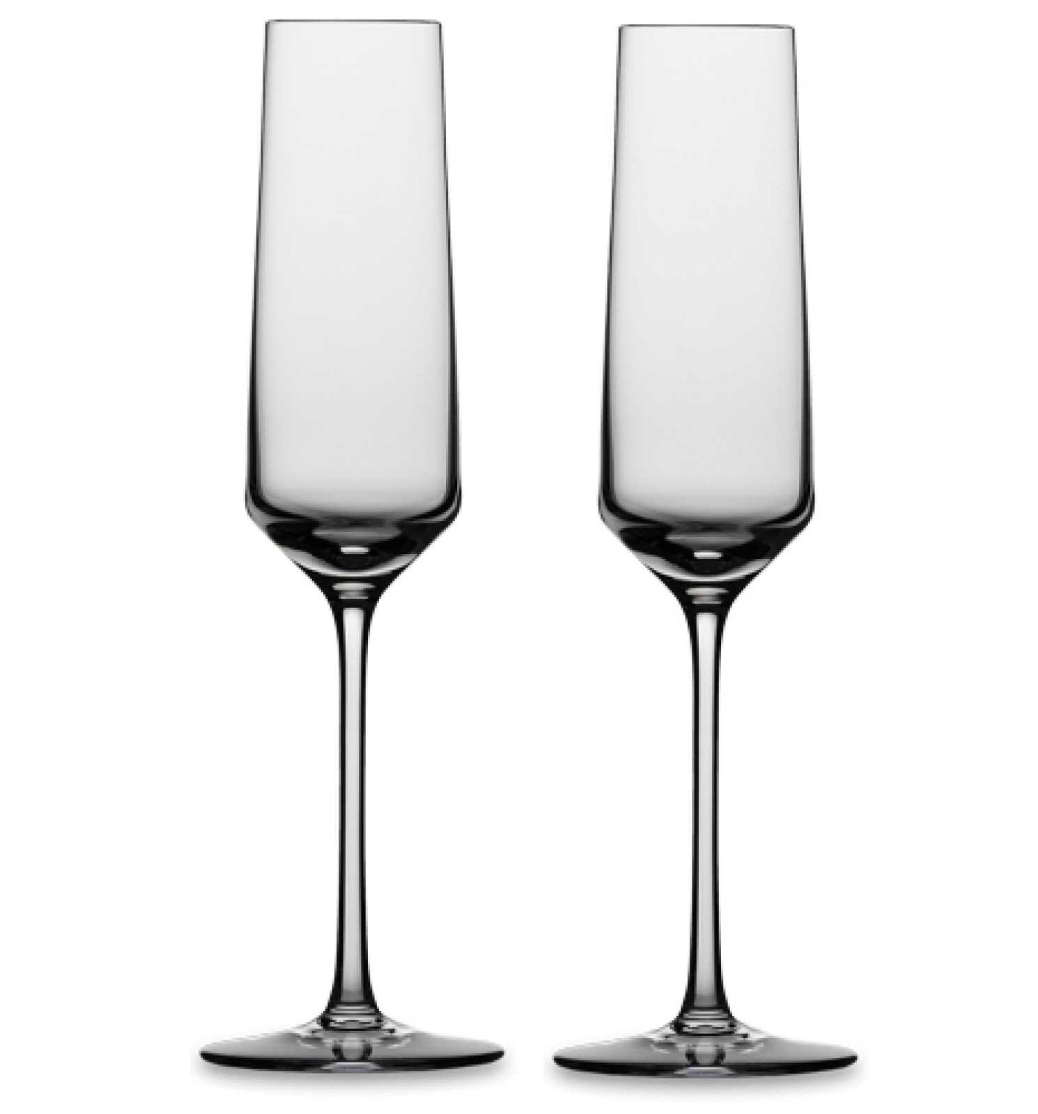 Онлайн каталог PROMENU: Набор бокалов для шампанского Schott Zwiesel PURE, прозрачный, 2 штуки Schott Zwiesel 112941_PROMO