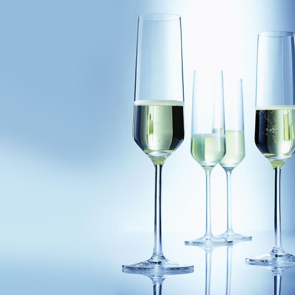 Набор бокалов для шампанского Schott Zwiesel PURE, прозрачный, 2 штуки Schott Zwiesel 112941_PROMO фото 2