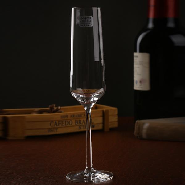 Набор бокалов для шампанского Schott Zwiesel PURE, объем 0,209 л, прозрачный, 6 штук Schott Zwiesel 112415_6шт фото 3