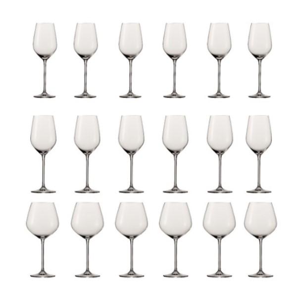 Онлайн каталог PROMENU: Набор бокалов для вина Schott Zwiesel Fortissimo, 18 предметов                               119225