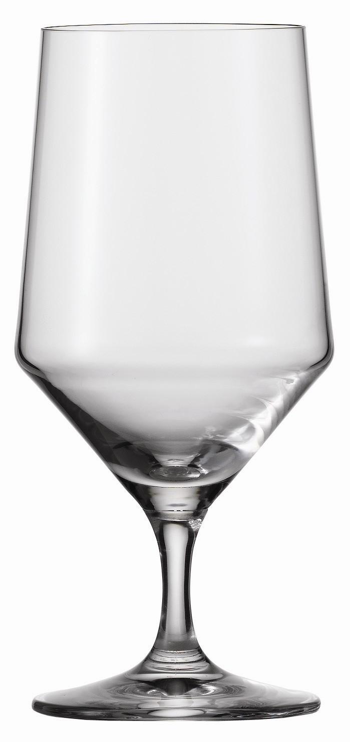 Набор бокалов для воды Schott Zwiesel PURE, объем 0,451 л, прозрачный,  6 штук Schott Zwiesel 112842_6шт фото 1