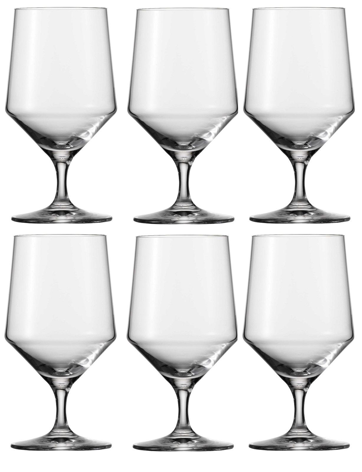 Набор бокалов для воды Schott Zwiesel PURE, объем 0,451 л, прозрачный,  6 штук Schott Zwiesel 112842_6шт фото 0