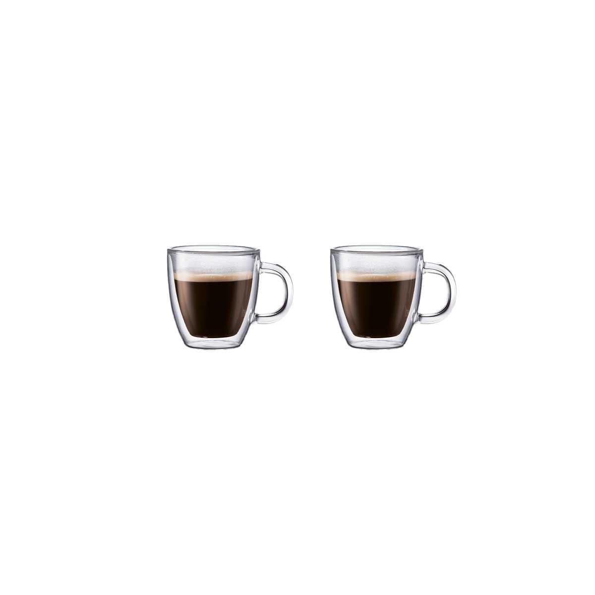 Набор чашек для эспрессо 0,15 л, 2 шт Bodum Bistro  (10602-10) Bodum 10602-10 фото 1