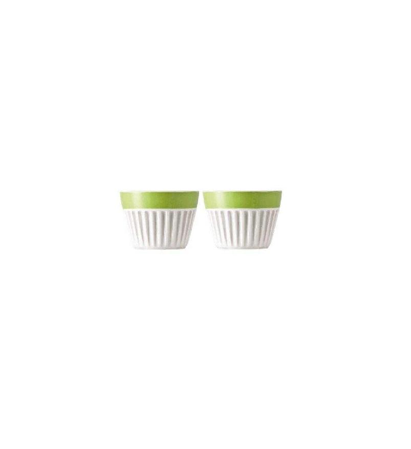 Набор чашек для капучино Rosenthal SUNNY DAY, зеленый, 2 штуки Rosenthal 10850-408527-28391 фото 1