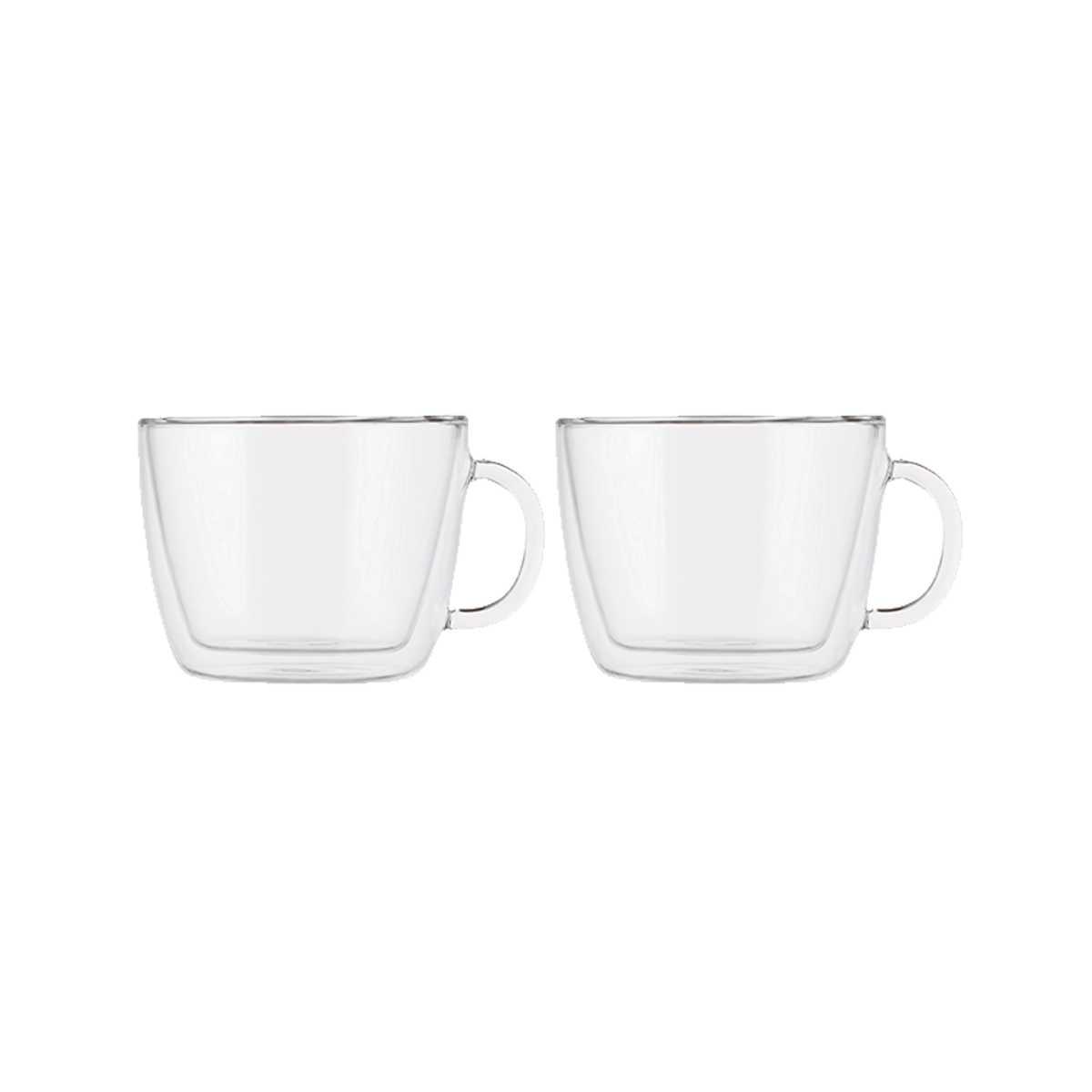 Онлайн каталог PROMENU: Набор чашек для латте 0,45 л, 2 шт Bodum Bistro  (10608-10) Bodum 10608-10
