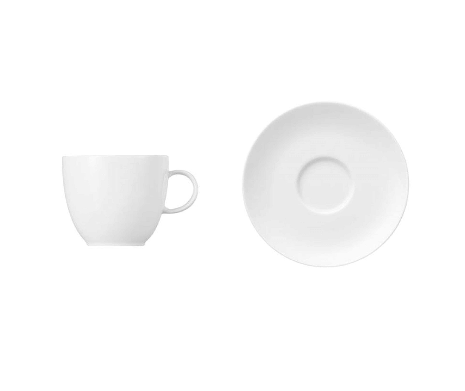 Онлайн каталог PROMENU: Чашка с блюдцем Rosenthal SUNNY DAY, объем 0,2 л, белый, 2 предмета Rosenthal 70850-800001-14742_SET