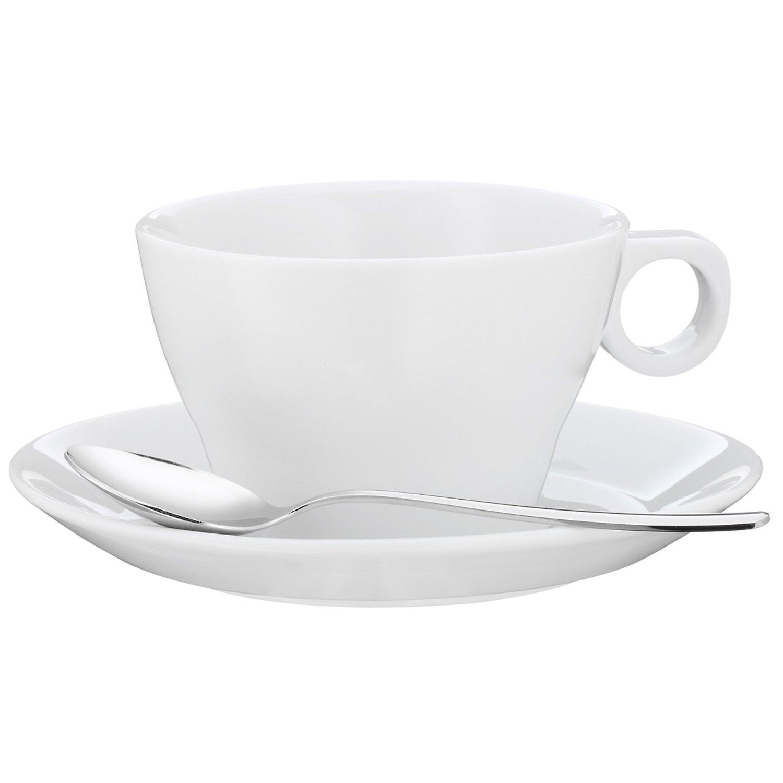Онлайн каталог PROMENU: Набор: чашка с блюдцем и ложкой WMF Barista, 3 предмета WMF 06 8622 6040