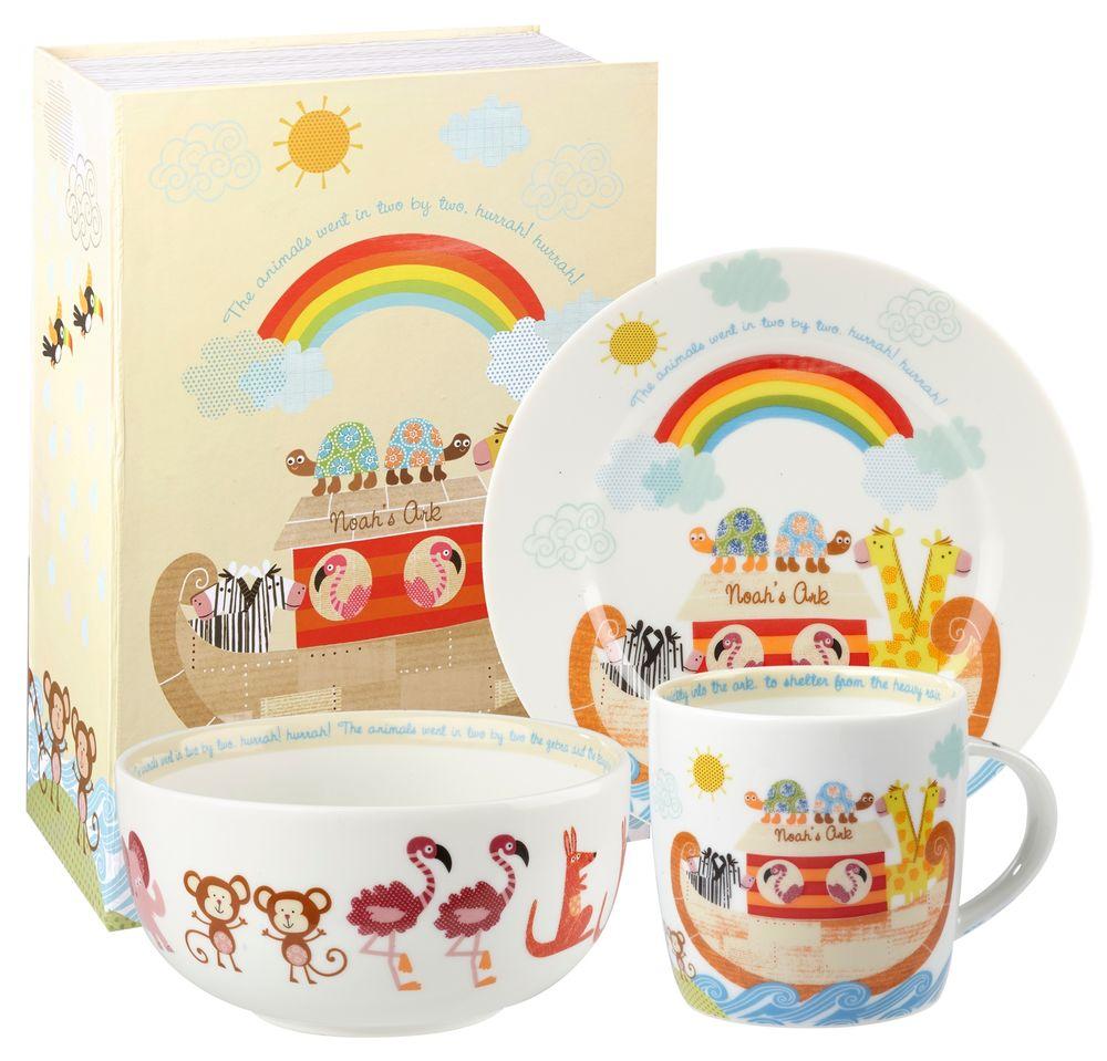 Онлайн каталог PROMENU: Набор детский в подарочной упаковке Churchill LITTLE RHYMES, 3 предмета Churchill NARC00021