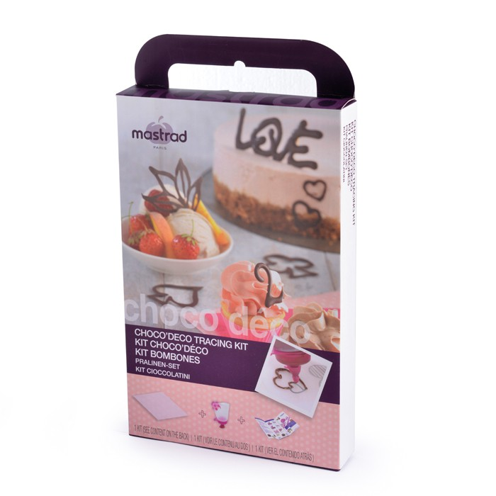 Онлайн каталог PROMENU: Набор для декорирования шоколадом Mastrad, 4 предмета                                   F38160