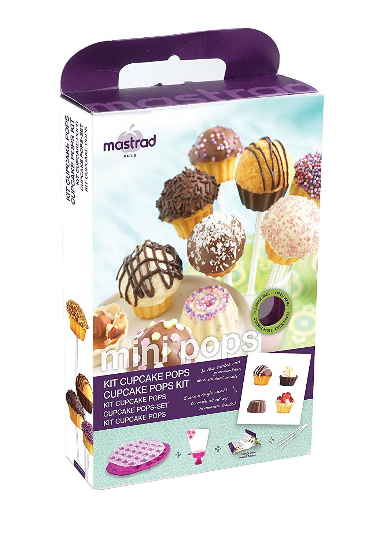 Онлайн каталог PROMENU: Набор для мини-кексов на 24 порции Mastrad, фиолетовый Mastrad F44960