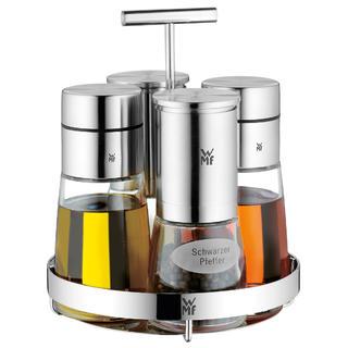Набор для специй WMF DE LUXE, прозрачный с серебристым, 5 предметов WMF 06 6786 6030 фото 5