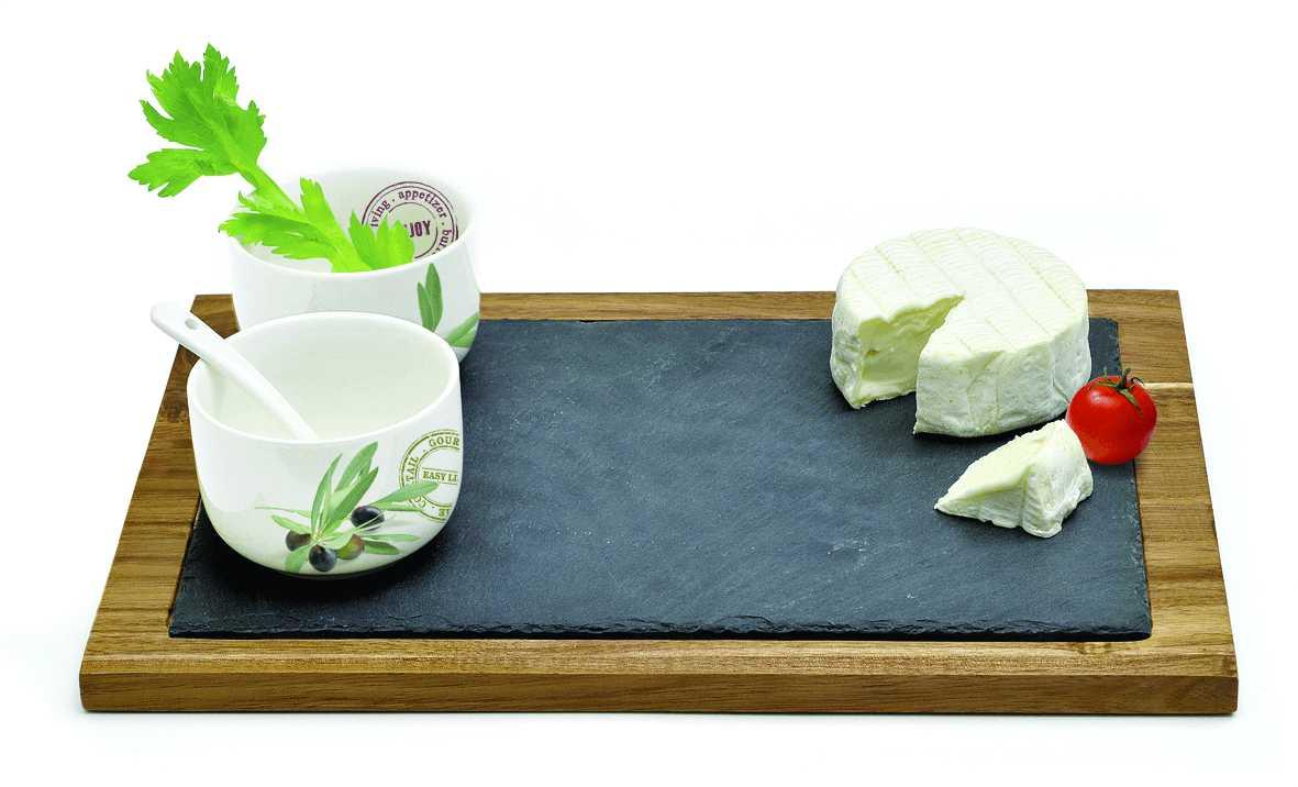 Онлайн каталог PROMENU: Набор для закусок Nuova R2S, 5 предметов                                   997 OFR