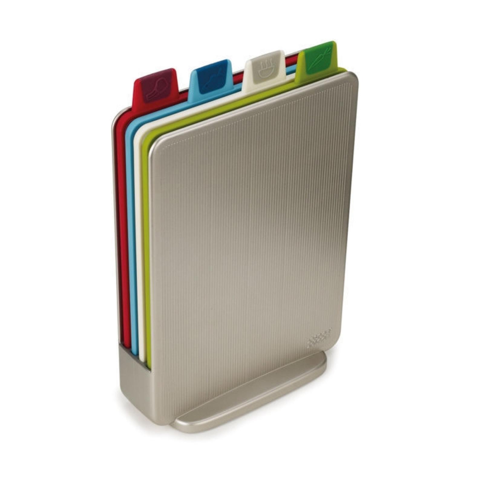 Онлайн каталог PROMENU: Набор из разделочных досок в кейсе Joseph Joseph Indeх Mini, 20,5х15 см, серый, 5 предметов Joseph Joseph 60097