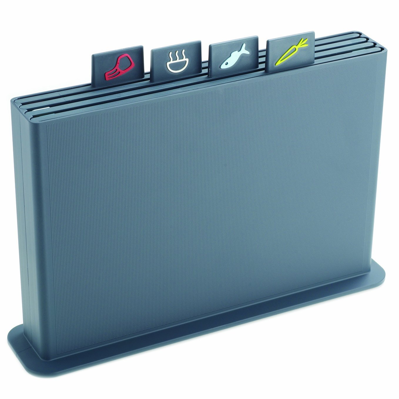 Набор досок разделочных в кейсе Joseph Joseph INDEX, 33,5х23,5 см, синий, 5 предметов Joseph Joseph 60036 фото 0