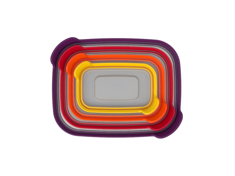 Набор прямоугольных емкостей для продуктов Joseph Joseph Nest Storage, 1,85 л, 1,1 л, 0,54 л, 0, 23 л, 4 предмета Joseph Joseph 81006 фото 4