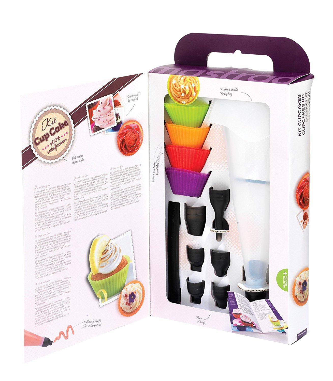 Онлайн каталог PROMENU: Набор форм для капкейков Mastrad, разноцветный, 9 предметов Mastrad F44060