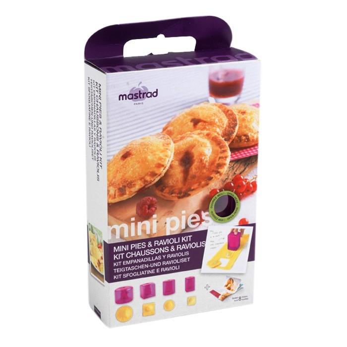 Онлайн каталог PROMENU: Набор форм для мини-пирогов и равиоли Mastrad, фиолетовый, 9 предметов                               F26360