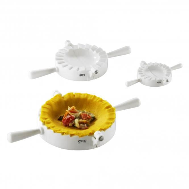 Онлайн каталог PROMENU: Набор форм для равиоли GEFU Kitchen Aids, белый, 3 предмета в наборе GEFU 28430