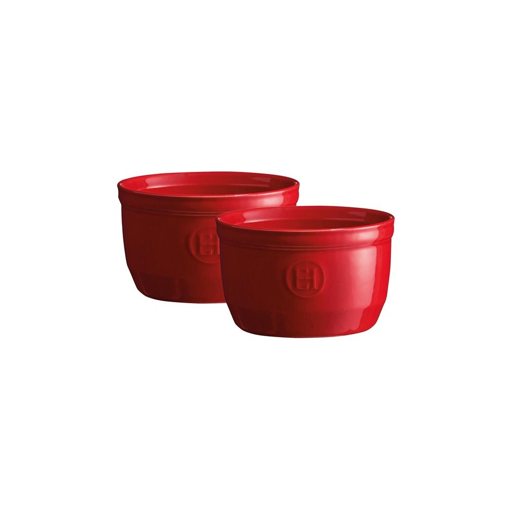 Онлайн каталог PROMENU: Набор порционных форм для запекания Emile Henry, 10,5 см, красный, 2 штуки Emile Henry 344010