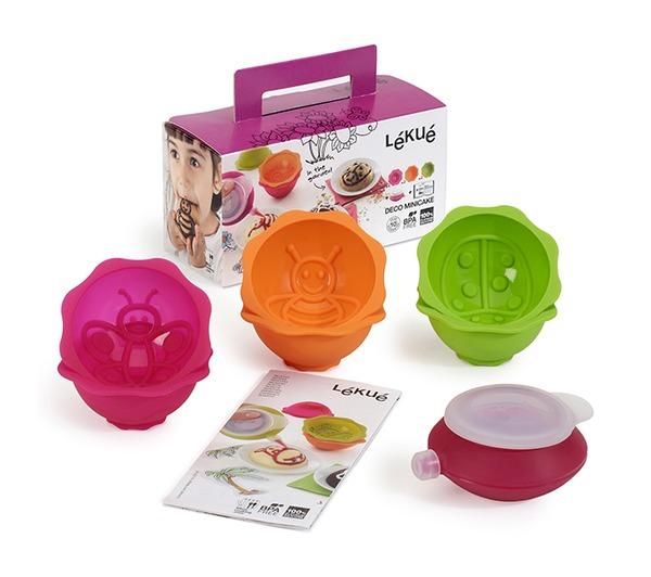 """Онлайн каталог PROMENU: Набор формочек детский для выпечки """"Сад"""" Lekue Baking  Moulds, 3,6х8,9х8,9 см, разноцветный, 6 предметов Lekue 0240707SURM017"""