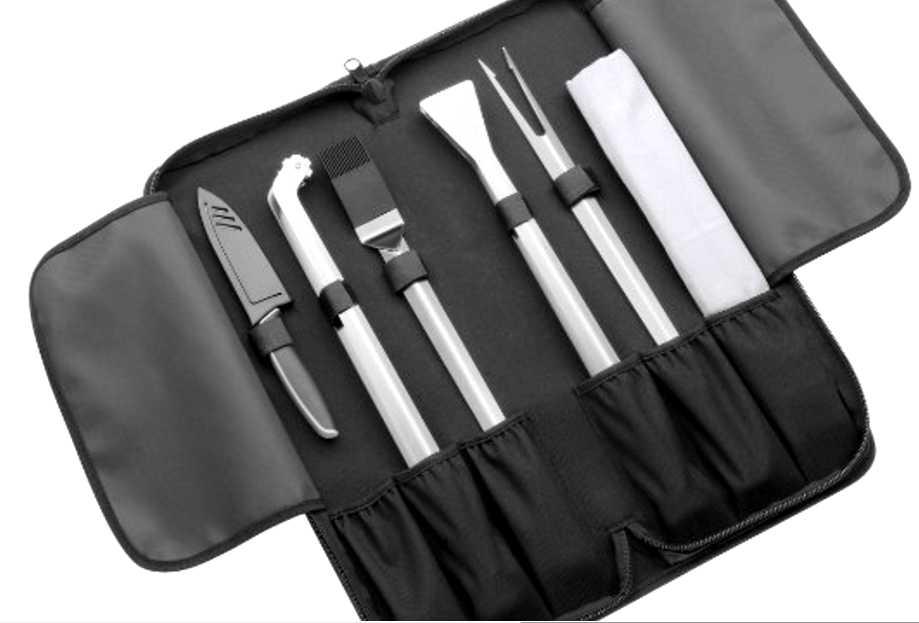 Набор инструментов для гриля WMF OUTDOOR, белый, 8 предметов WMF 06 0541 9990 фото 1