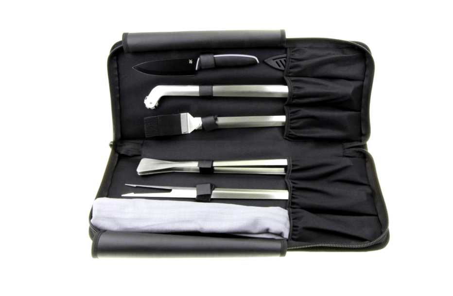 Набор инструментов для гриля WMF OUTDOOR, белый, 8 предметов WMF 06 0541 9990 фото 2